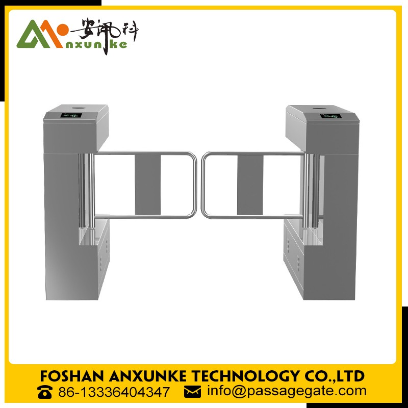 China manufacturrer business Electronic Flap Swing Barrier for Access Control