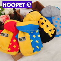 2015 New Colorful Pet cloth for puppy dog sweatshirt