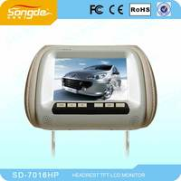 7 Inch Super Brand Wide Screen Car TV Monitor With MP5 Funtion