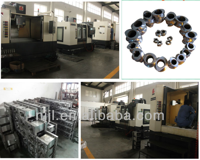 High filler master batch compounding plastic machinery