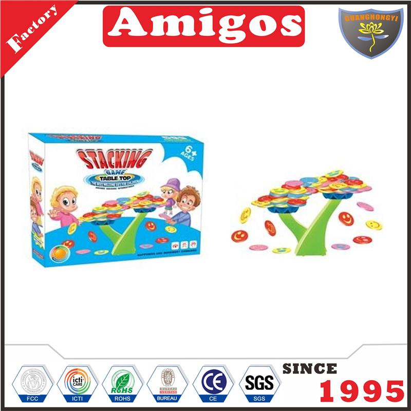 newest educational toy Stacking game learning toy
