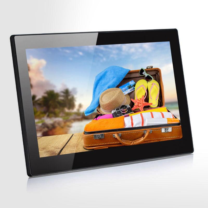 12.1 pouces écran D'AFFICHAGE à CRISTAUX LIQUIDES de la publicité cadre photo numérique avec batterie rechargeable - ANKUX Tech Co., Ltd