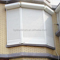 aluminium rolling shutter maual or electric