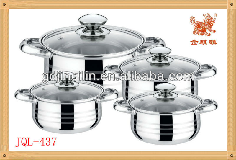 newest toughened glass cover stainless steel set masterclass premium cookware for home use
