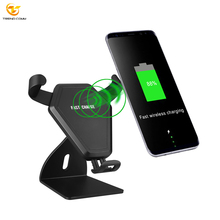 Universal Mount Smart Mobile Phone Holder Wireless Car Charger