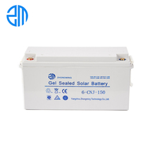 ZM smart fashionable cheap discharge current solar power 12V 150ah battery