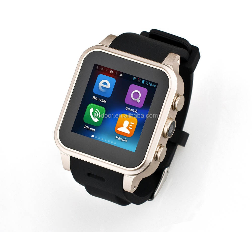 2016 new product For IOS and Android Moible Phone Watch smart watch with camera and sim card slot