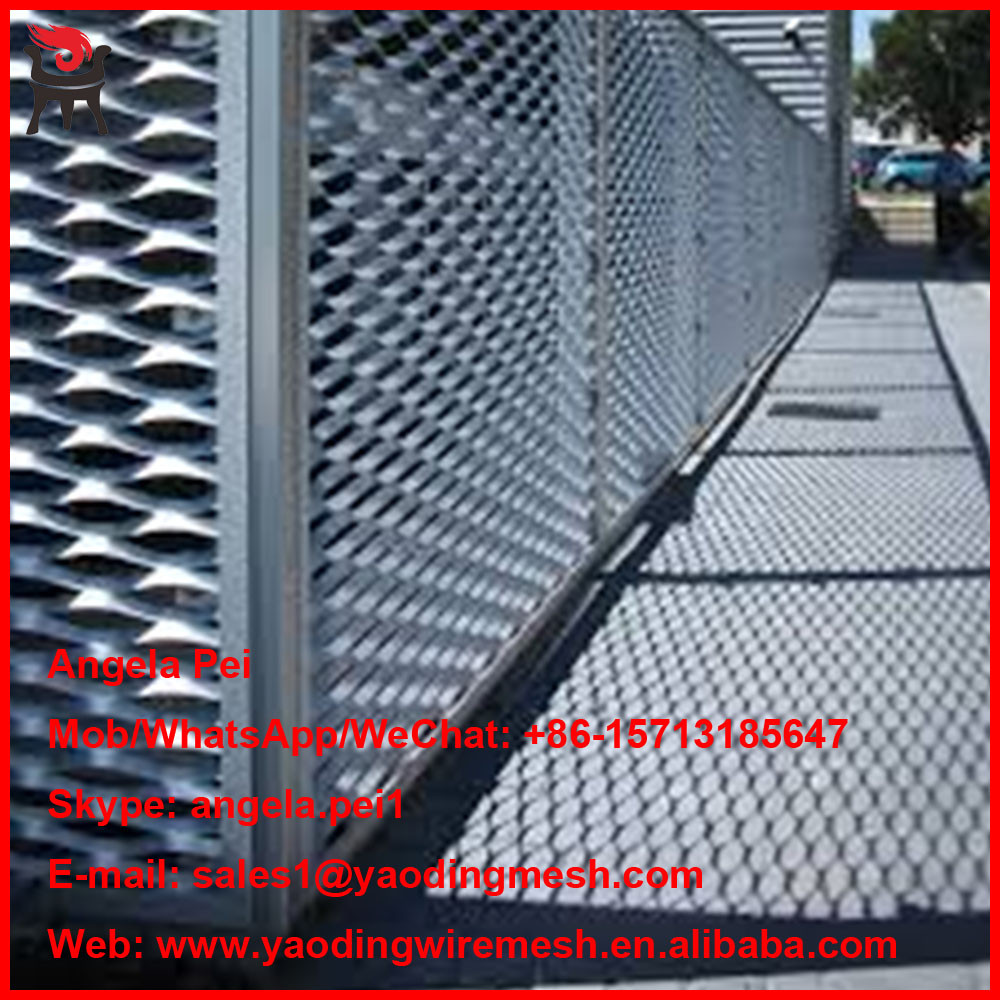good grade aluminum expanded metal mesh work home packing products