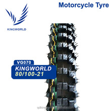 rich size offroad motorcycle tire 80/100-21