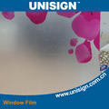 Unisign Water proof construction Decorative Window Film Printable Adhesive Vinyl Roll