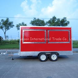 2015 New design electric food van for fast food and drinks ZS-VT390 A