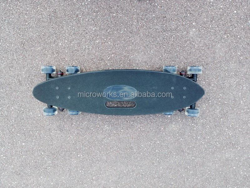 black skate board Stair all rover drift board down stairs all step 8 WHEEL skateboard glides weight 4KG