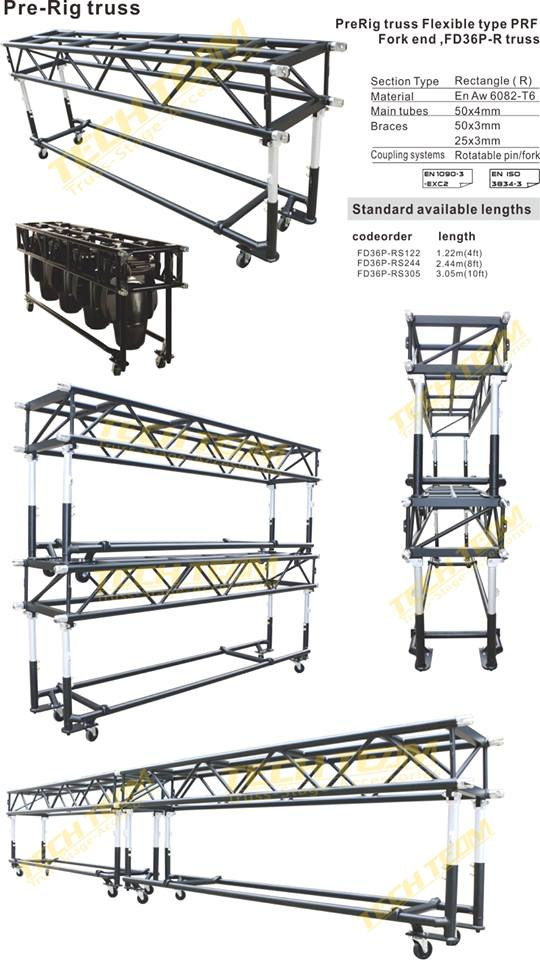 Pre rig truss same as Tomcat/Customized size pre rig truss