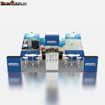 Modular Reusable Photo Modern Exhibition Stall Stands Display