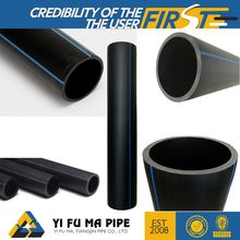 High strength outdoor buried water supply system easy joint hdpe pipe