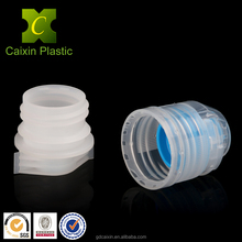 Sport Drinking Silicone Flip Cap with Plastic Pourer