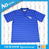Wholesale Fast Dry Sport Shirt Blue