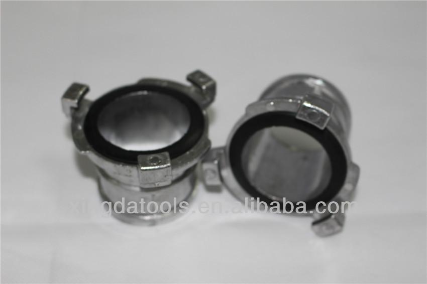2 50mm pulgadas manguera de pvc layflat conector de for Manguera de jardin 1 2