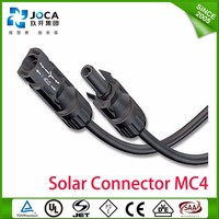 MC type 4 solar connectors MC4 Solar Connector Set for PV Cable Installation Accessories IP67 Spring Cage Solar PV Plug