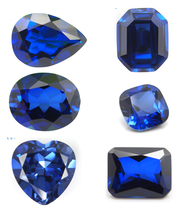 Cushion Cut Synthetic Sapphire Price Per Carat