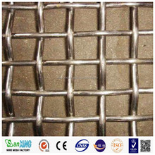 High tensile stainless steel crimped wire mesh for mining sieve screen mesh
