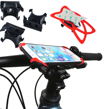 Universal Phone Mount Bike Bicycle Jogger Stroller Handlebar Mobile Stands for MP3 MP4 GPS Navigator