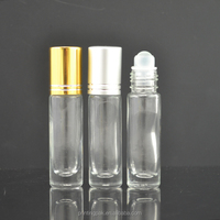 4ml 6ml 8 ml Essential Oil Glass Roller roll on Bottles for Aromatherapy Perfumes