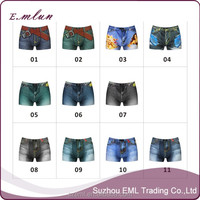 Brand New Sexy Underwear Men Classic Printed Cotton Spandex Underpants Mens underwear Boxers Shorts Cuecas Boxer