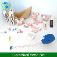 Free Samples custom printed T-shirt Shaped hand shaped sticky notes ,Sticky Memo Pad