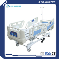 AYR-6101RE Five 5 functions icu bed electric mdeical hospital bed for patient
