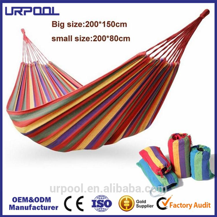 folding cotton 2 person hammock outdoor canvas hammock desk feet hammock