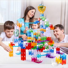 Children's creative Toys Gravity Sensing Bass Playing Game Maze Tracks Rail building blocks toy