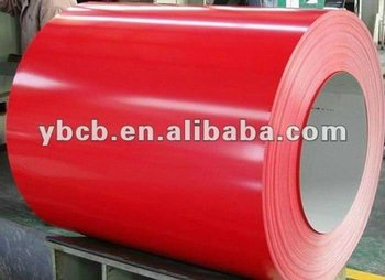 Color coated galvanized steel PPGI