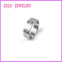 Hot Sale Cheap Fashion Jewelry 316l Large Size Stainless Steel Rings Wholesale