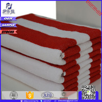 21s cotton yarn dyed stripe bath towel stock