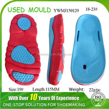 Newest Second Hand Injection Two Color EVA Sole Mould