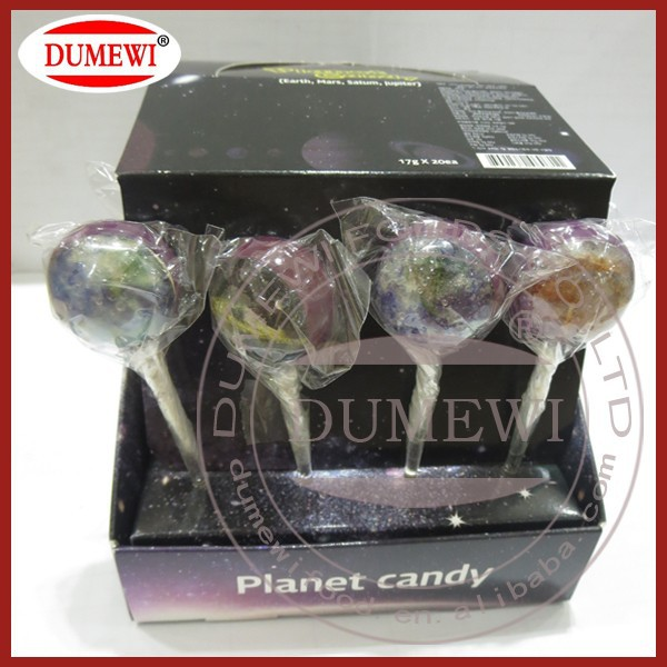 Sugar Free High Standard OEM Planet Lollipops