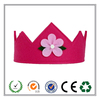 Top selling eco-friendly purple felt crown with CE certificate