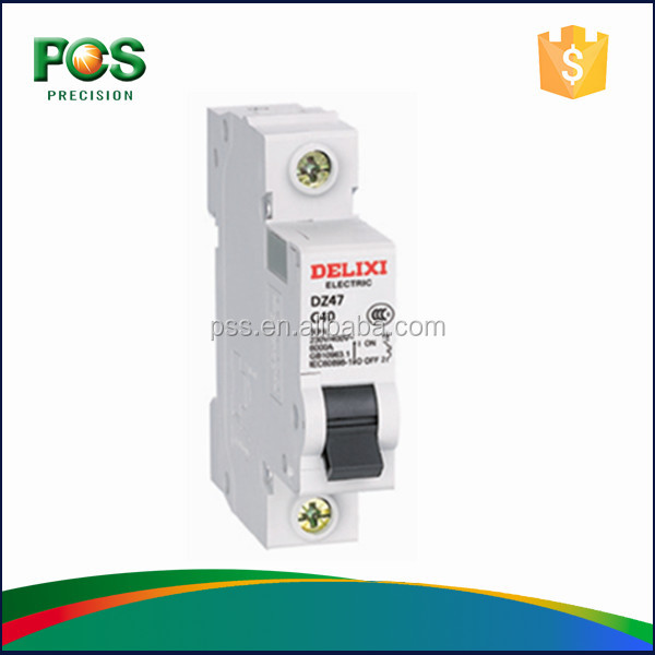 Alibaba Electrical Products DZ47 over-voltage protection circuit breaker