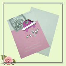 just marriage,modern USA wedding greeting cards