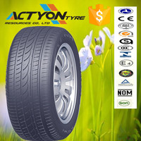 Efficient water evacuation and good ride stability car tires