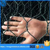 High Strength PVC Coated Gabion Box/welded mesh galvanized wire mesh gabion for sale