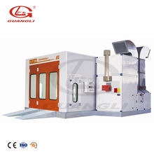 Factory price CE mobile water curtain spray booth paint booth for painting cars