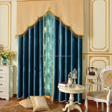 voile embroidery ready made curtain and drapes/flower embroidered curtain drapery voile sheer panel drapes drapery