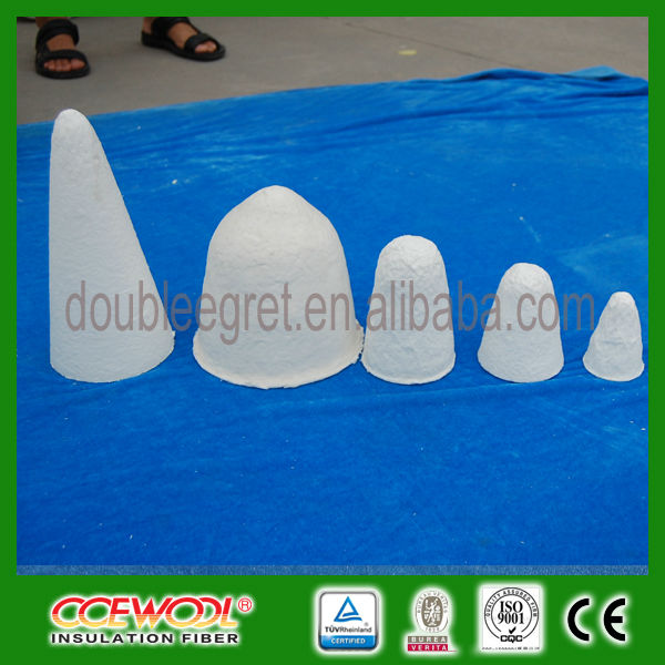 CCE WOOL Excellent Thermal Stability Vacuum Forming Ceramic Fiber