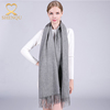 Hot sale fashion winter women wear solid color wool shawl wrap kashmir scarf wholesale pashmina cashmere scarf shawl