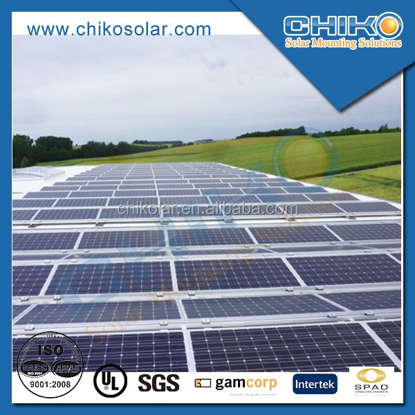 Hot sale photovoltaic panel support roof solar mounting