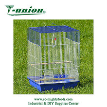 Pet Cages, Carriers & Houses Fashion Parrot Cages Decoration Metal Bird Cages