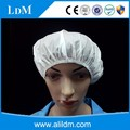 Hotel bathing home bathing PVC shower cap with elastic