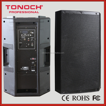 15 inch Good quality hot-sale high power speaker box with Folder Mp3 Player / USB/SD / Remote Control/ FM / BT